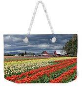 Tulips And Barn Weekender Tote Bag