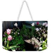 Tulips And Bluebells Weekender Tote Bag