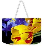 Tulips And Iris Weekender Tote Bag