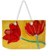 Tulips And Love Happy Together Weekender Tote Bag