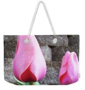Tulips Artwork Flowers 26 Pink Tulip Flowers Art Prints Nature Floral Art Weekender Tote Bag
