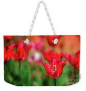 Tulips At Honor Heights Weekender Tote Bag