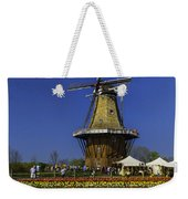 Tulips At The Windmill Weekender Tote Bag