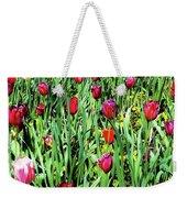 Tulips Blooming Weekender Tote Bag