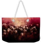 Tulips Burnt Sienna Weekender Tote Bag by Richard Ricci