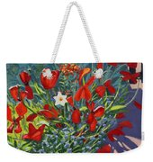 Tulips By The Gate Weekender Tote Bag