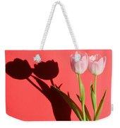 Tulips Casting Shadows Weekender Tote Bag