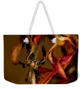 Tulip's Demise - A Natural Abstract Weekender Tote Bag