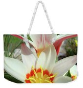 Tulips Flowers Artwork 1 Tulip Flower Art Prints Spring Floral Art White Tulips Garden Weekender Tote Bag