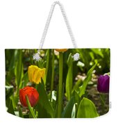Tulips In The Garden Weekender Tote Bag