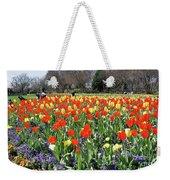 Tulips In The Park. Weekender Tote Bag