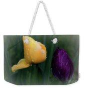 Tulips In The Rain Weekender Tote Bag