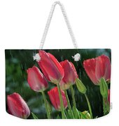 Tulips In The Rain Weekender Tote Bag