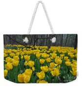 Tulips In The Woods Weekender Tote Bag