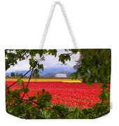 Tulips Secret Window Weekender Tote Bag