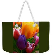 Tulips Smiling Weekender Tote Bag