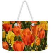 Tulips Yellow And Tangerine Weekender Tote Bag