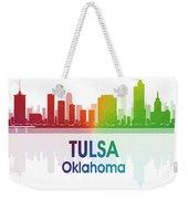 Tulsa Ok 1 Squared Weekender Tote Bag