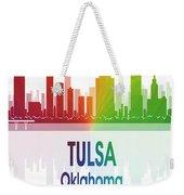 Tulsa Ok 1 Vertical Weekender Tote Bag