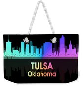 Tulsa Ok 5 Squared Weekender Tote Bag