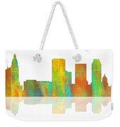 Tulsa Oklahoma Skyline-1 Weekender Tote Bag