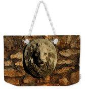 Tulsa Rose Garden Lion Fountain #1 Weekender Tote Bag