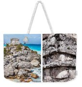 Tulum, Mexico Collage Weekender Tote Bag