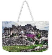 Tulum Temple Ruins No.2 Weekender Tote Bag