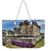 Tulum Temple Ruins Weekender Tote Bag