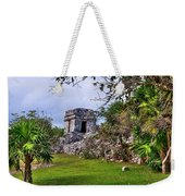 Tulum Watchtower Weekender Tote Bag