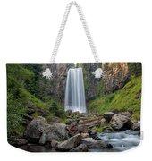 Tumalo Falls Closeup Weekender Tote Bag