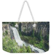 Tumalo Falls Weekender Tote Bag by Margaret Pitcher