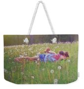 Tumble In The Grass Weekender Tote Bag