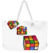 Tumbling Cubes Weekender Tote Bag