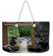 Tumbling Water Weekender Tote Bag