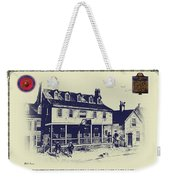 Tun Tavern - Birthplace Of The Marine Corps Weekender Tote Bag