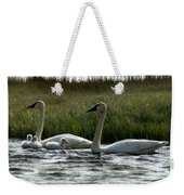 Tundra Swans And Cygents Weekender Tote Bag