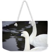 Tundra Swans Weekender Tote Bag
