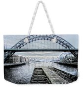 Tyne Bridge, Newcastle Weekender Tote Bag