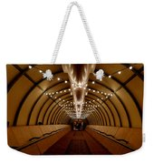 Tunnel Abstract Weekender Tote Bag