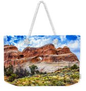 Tunnel Arch Trail View Weekender Tote Bag