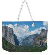 Tunnel View In Yosemite  Weekender Tote Bag