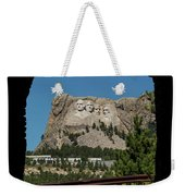 Tunnel View Mt Rushmore 2 A Weekender Tote Bag