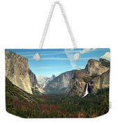 Tunnel View Yosemite Weekender Tote Bag