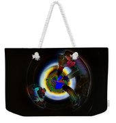 Tunnel Vision Up The Drain Weekender Tote Bag