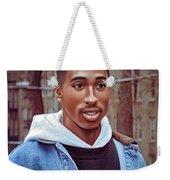 Tupac Shakur Drawing Weekender Tote Bag