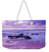 Turbulent Daybreak Seascape Weekender Tote Bag