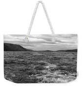 Turbulent Loch Ness In Monochrome Weekender Tote Bag