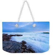 Turbulent Pacific Weekender Tote Bag