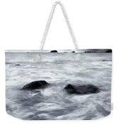 Turbulent Seas Weekender Tote Bag by Mike  Dawson